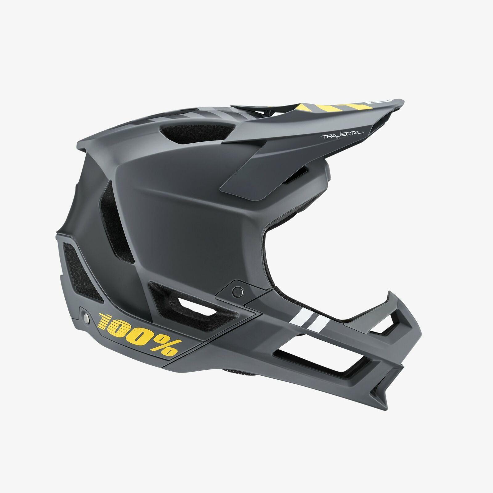 Ride 100 Trajecta Mountain Bike Full Face Enduro Cycling Helmet Charcoal Lg Helmet Full Face Helmets Cycling Helmet