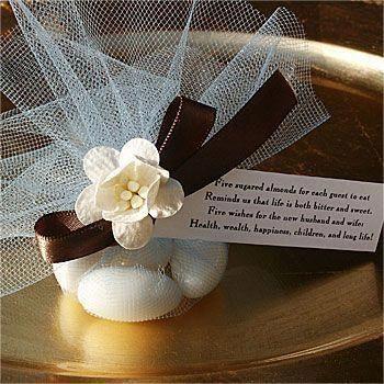 Photo of Italienische Hochzeitsbevorzugungen – kandierte Mandeln #candiedwedding
