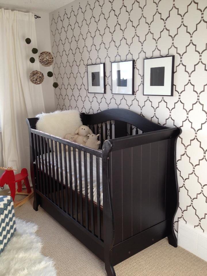 Neutral Baby Girl Nursery: Contemporary Nursery, Baby