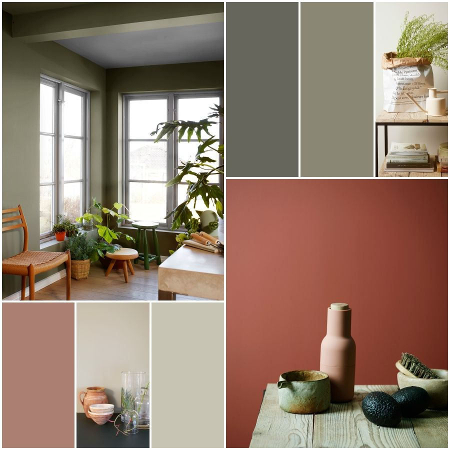 Jotun fargekart  journey of colour and lifestyle anette willemine also terracotta grey in interiors new home interior rh pinterest