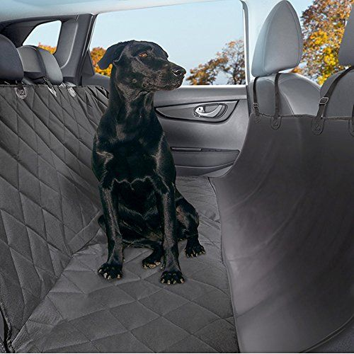 PRIME DAY SALE - Pet Seat Cover with Seat Anchors - Water and Weatherproof Non-slip Rubber Backing with Bonus Pair of Best Harness and Seat Belt for Cars, Trucks, Suv's and Vehicles Plush Paws http://www.amazon.com/dp/B00TF4DHGG/ref=cm_sw_r_pi_dp_iLLPvb1RA9QD4