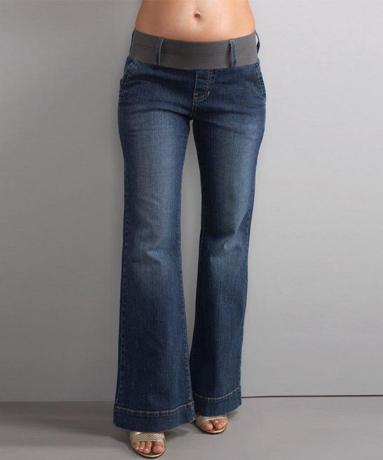 89780af782efe Blue Denim Megan Under-Belly Maternity Trouser Jeans $79.99 | My ...