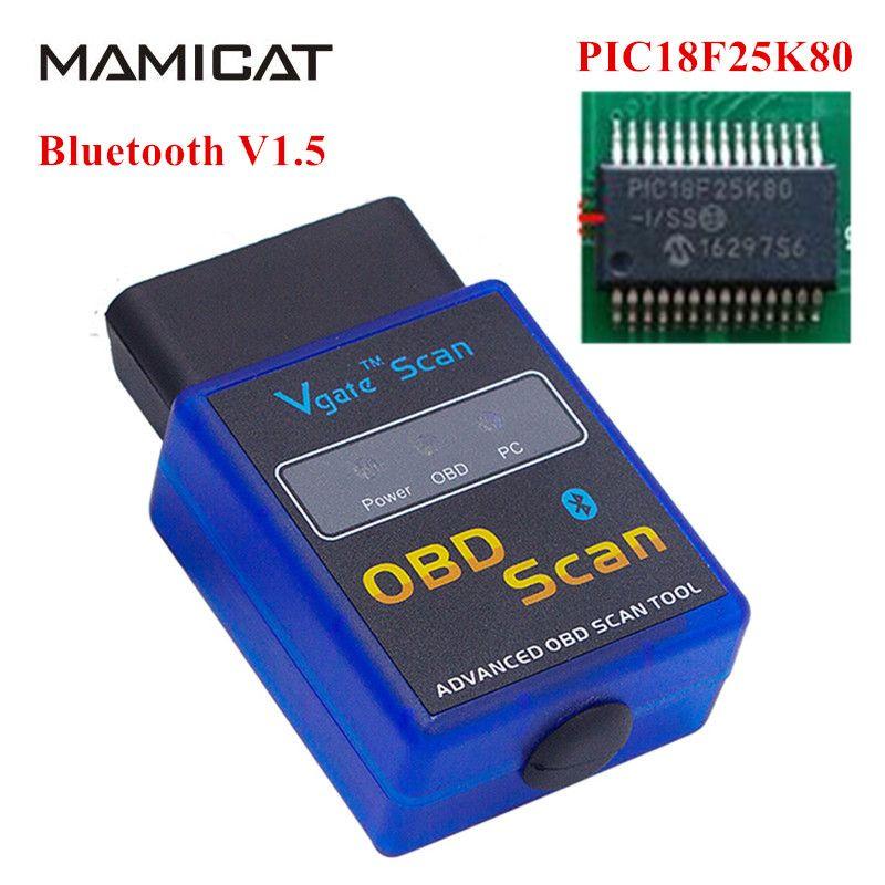 Support OBD2 Protocols ELM 327 V1 5 Can Bus Diagnostic ELM327
