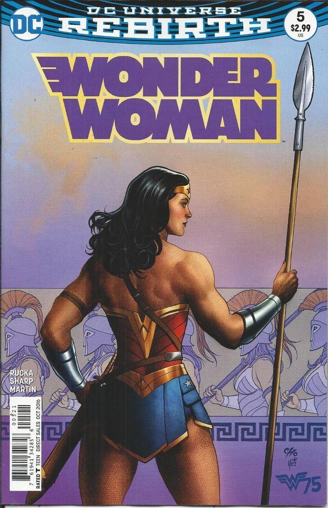 Dc Rebirth Wonder Woman Comic Issue 5 Limited Variant Wonder Woman Comic Wonder Woman Frank Cho