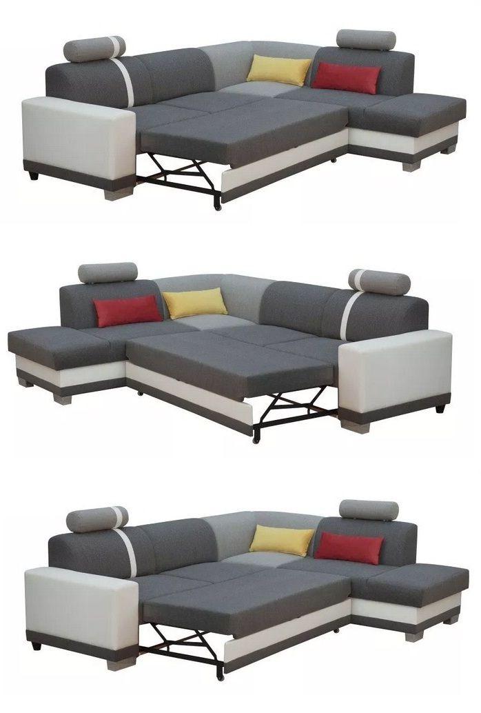 Corner Sofa Pull Out Bed | Corner Sofa Pull Out Bed, Leather Corner Sofa, Pull Out Bed
