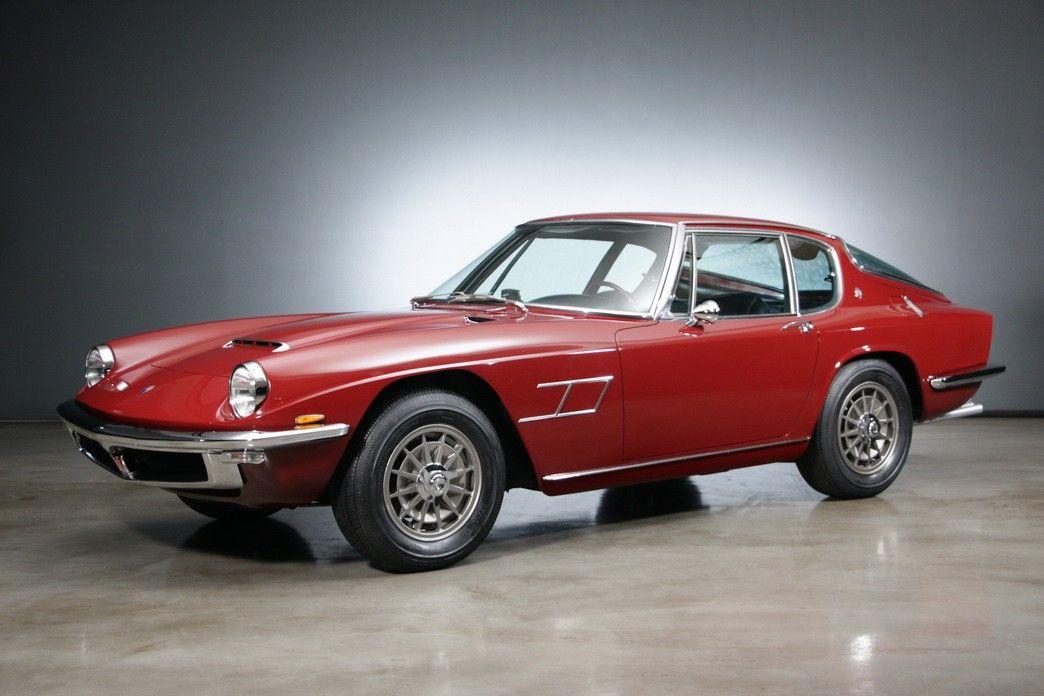 1968 Maserati Mistral Frua 4000 Coupe   Αυτοκίνητα