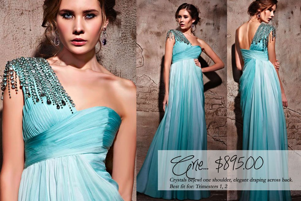 Beautiful maternity gowns! | Wedding Dresses for a Baby Bump ...