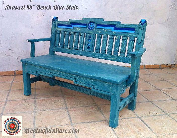 southwest benches custom southwestern