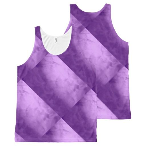 Abstract Purple Tank Top All-Over Print Tank Top Tank Tops