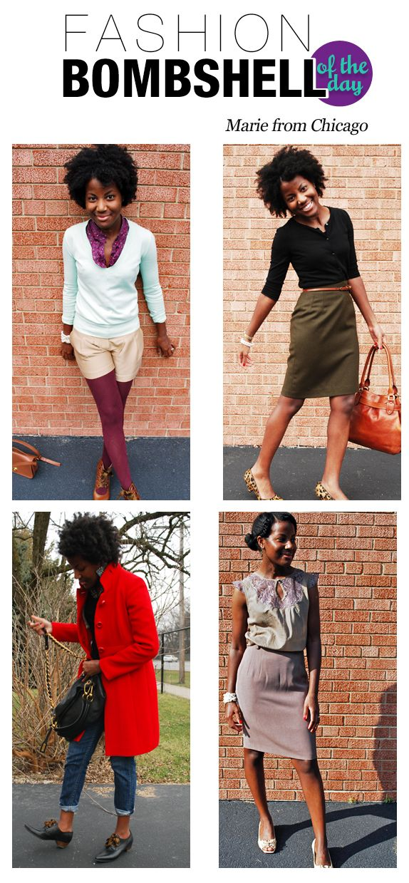 Fashion Bomb Daily - All Urban Fashion - All The Time. Very cool blog.