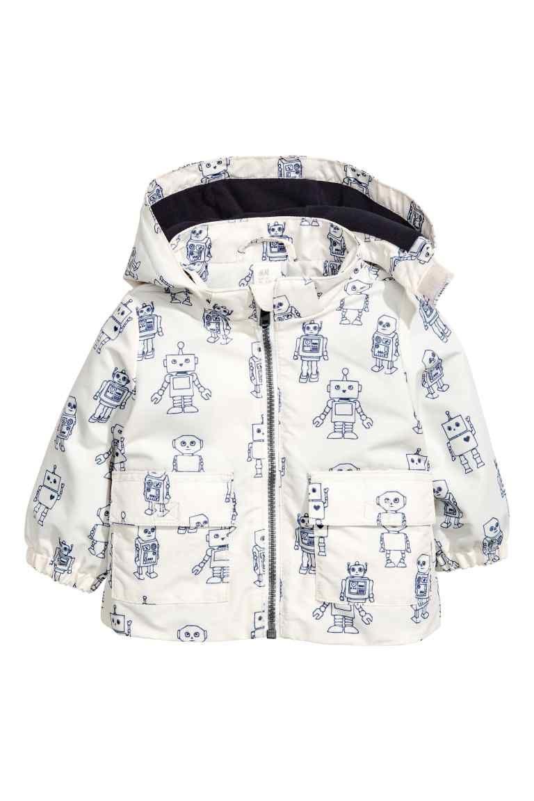 5ac21117a Fleece-lined outdoor jacket