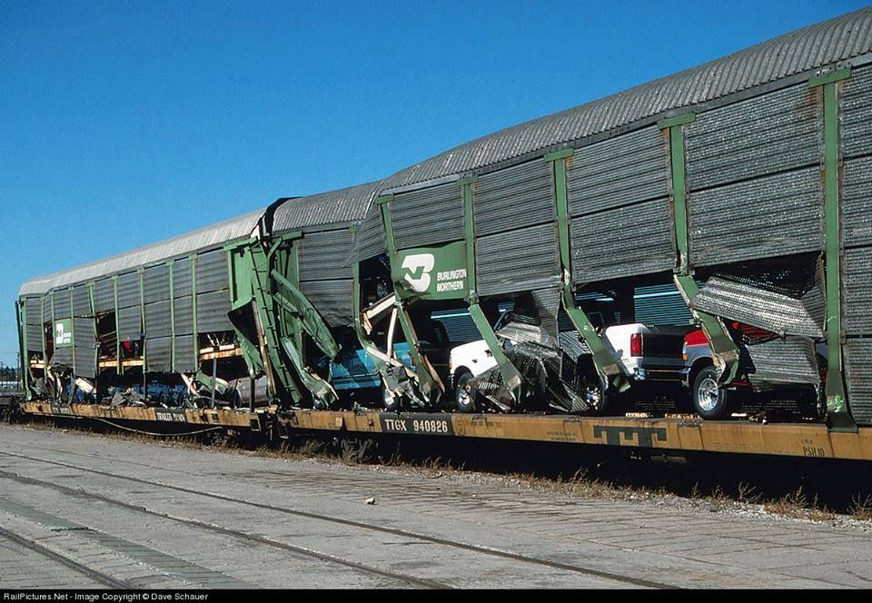 Little bit of Rubbin' Railway accidents, Old trains
