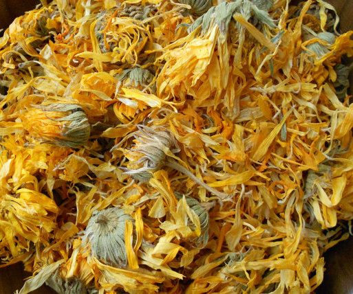 1lb ORGANIC Dried CALENDULA Herb, Whole Flower, BuLK WHOLeSALE - Fast SHIPpING (Can sell you any QtY you need). $14.99, via Etsy.