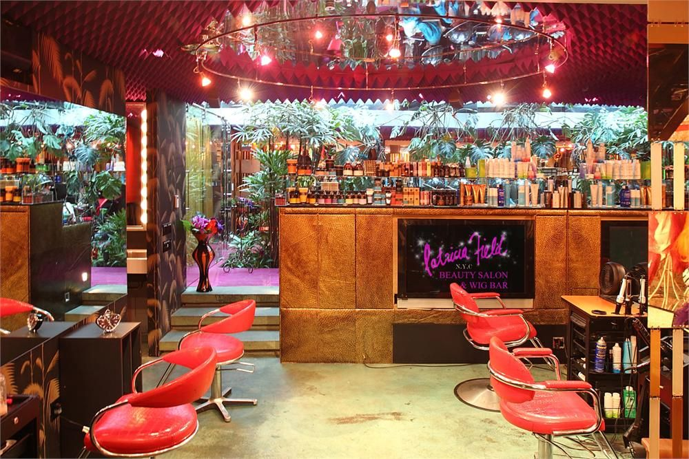 Patricia Field Beauty Salon. I want to go to here