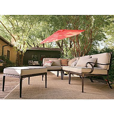 Westport 5-pc. Outdoor Sectional - jcpenney   Sectional ...