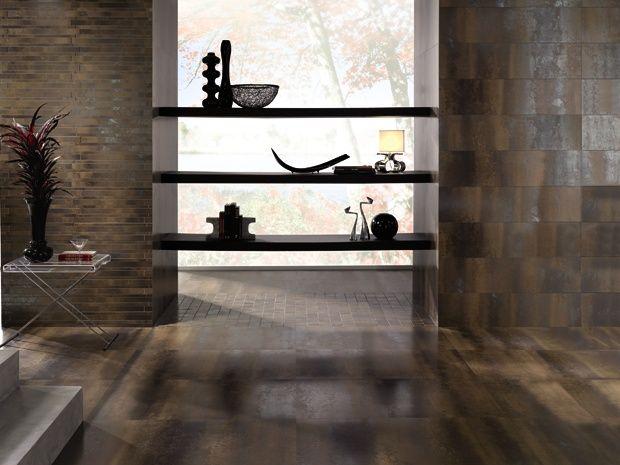 Metallic By Palazzo Feinsteinzeugfliese 30 X 60 Cm Iron Glasiert Badezimmer Fliesen Bauhaus Fliesen Badezimmer Fliesen Ideen