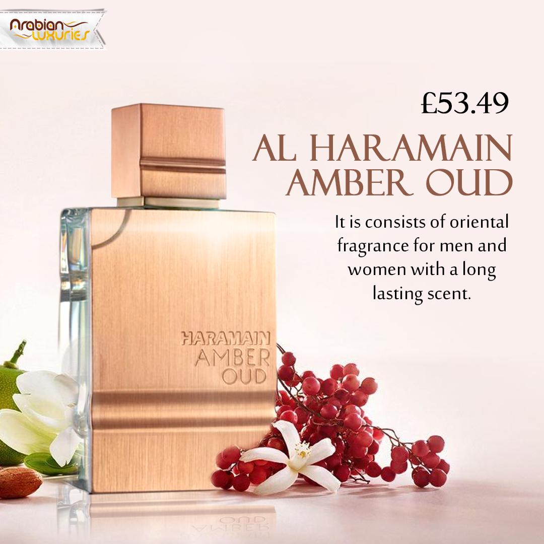 Al Haramain Amber Oud | Long lasting perfume, Amber, Fragrance