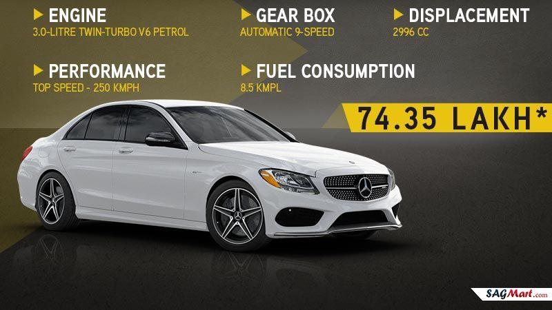 Amg C43 Model Power Mileage Safety Colors Sagmart Mercedes Car Models Amg Mercedes Benz