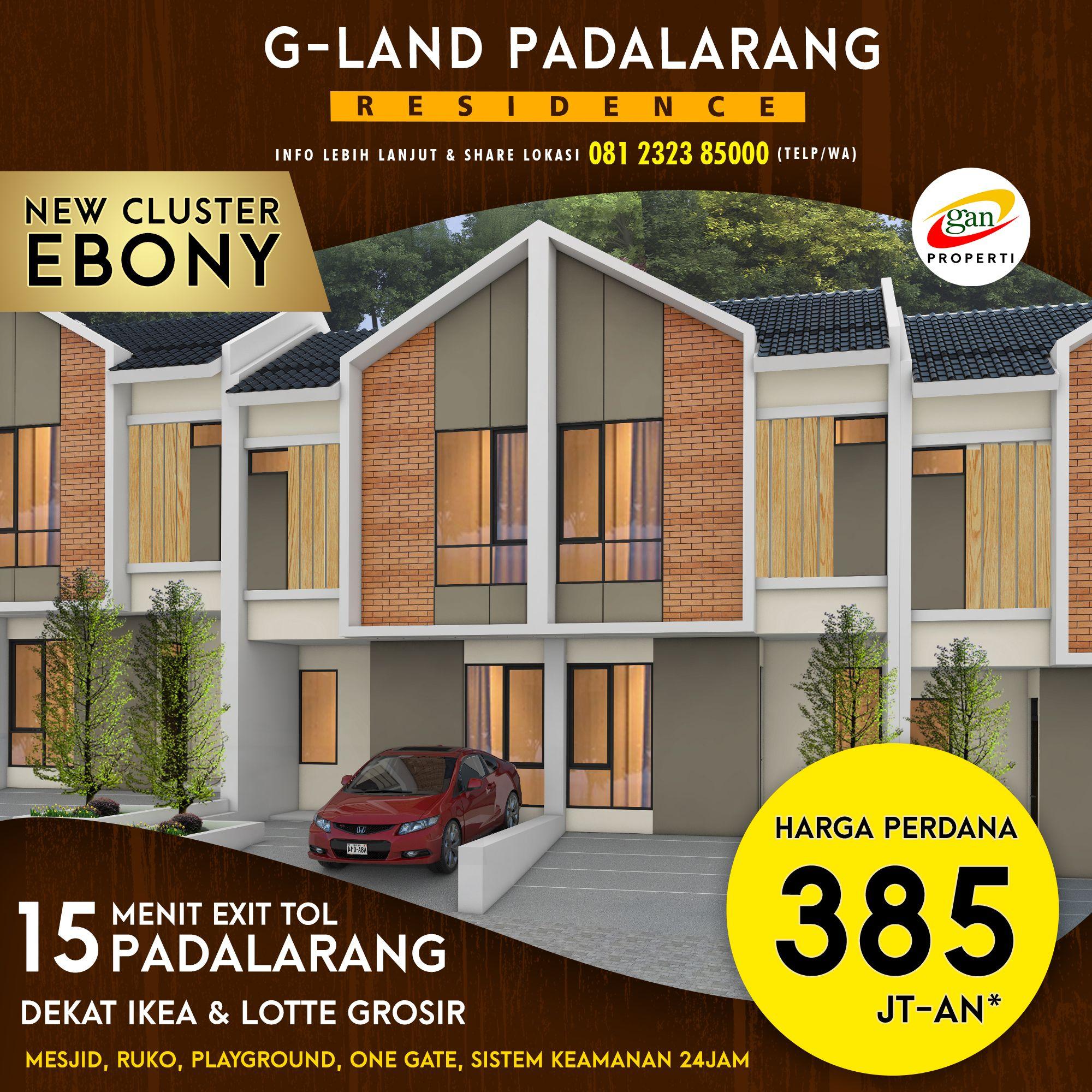 Rumah Bandung Barat Cluster Ebony Padalarang Jayamekar Harga Perdana Murah Terjangkau Cicilan Ringan Rumah Kota Bandung Modern