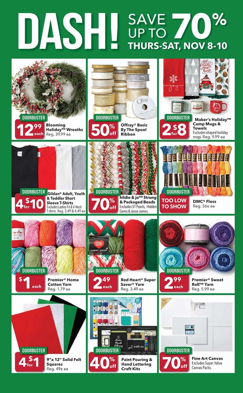 Joann Fabrics Pre Black Friday 2018 Ads Scan Deals And Sales See The Joann Fabrics Pre Black Friday Ad 2018 At 101blackfr Joann Fabrics Joann Pre Black Friday