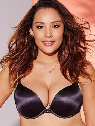 83ab7a32ede Hollywood Heart Throb Full Figure Bra - Our best-selling push-up bra is now  available in extended sizes and a beautiful range of shades.