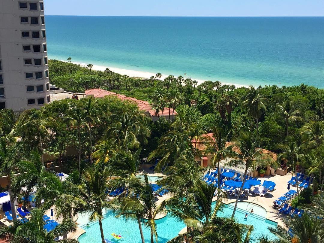 Enjoy sweeping Gulf views from The RitzCarlton Resort of