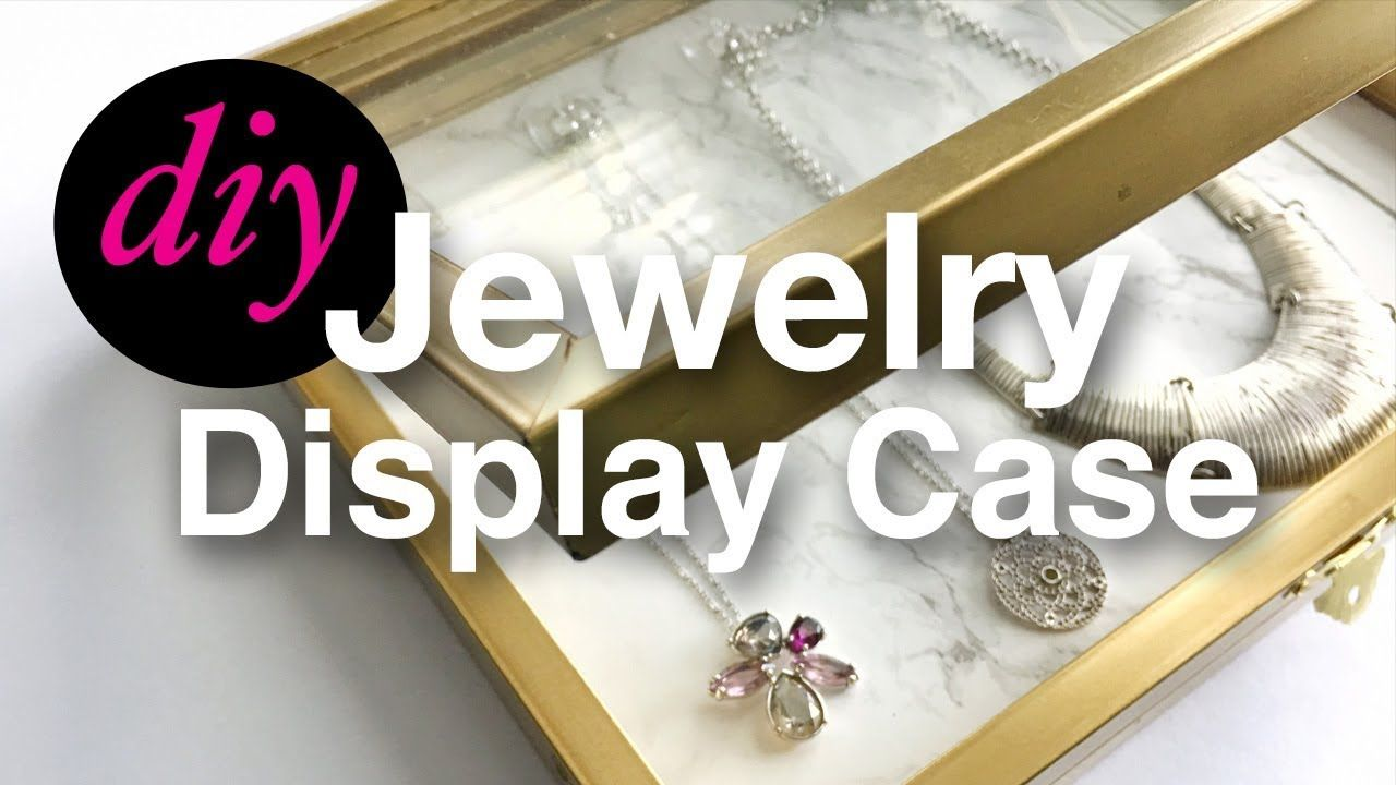 Diy jewelry display case youtube do it yourself inspriations diy jewelry display case youtube solutioingenieria Images
