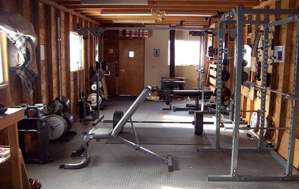 Diy home gym  DIY Home Gym Equipment Garage Gym from Home Gym Body Building ...