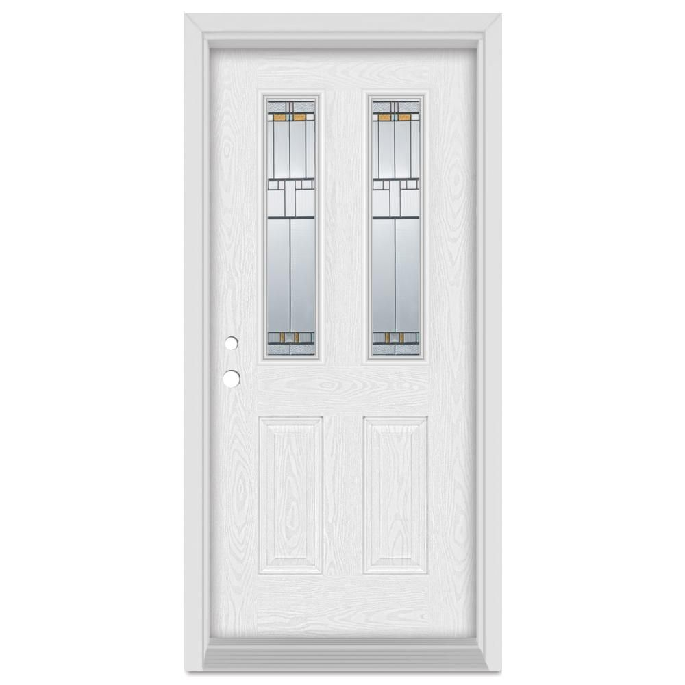 Stanley Doors 33375 In X 83 In Architectural Right Hand Patina