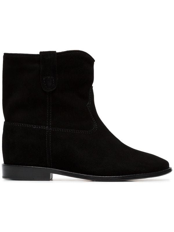 Crisi flat ankle boots