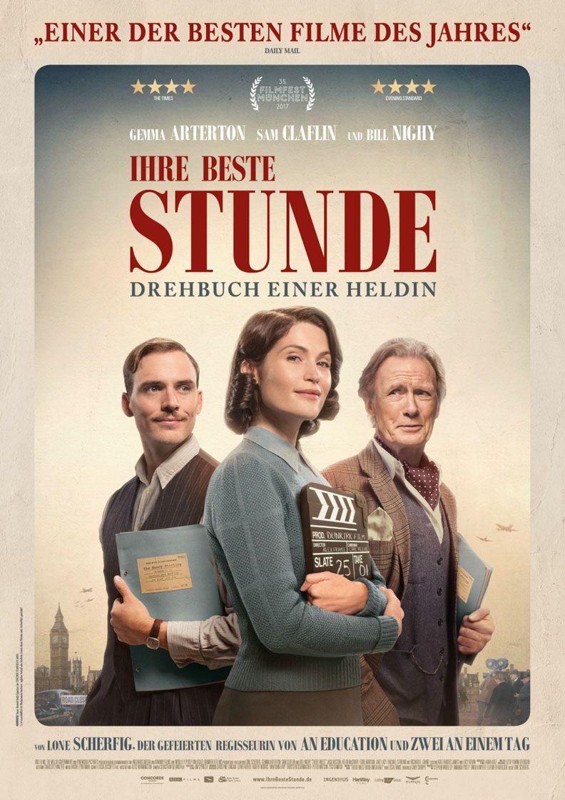 """Das Filmplakat zu """"Ihre beste Stunde - Drehbuch einer Heldin"""" [(c) Concorde Filmverleih]"""