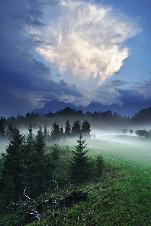 Nightfall by Kilian Schönberger