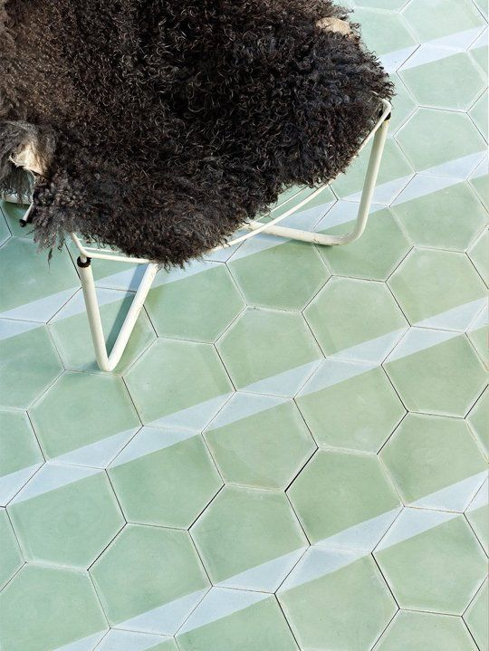 The Design Edit 10 Gorgeous Room Transforming Tiles Graphic Tiles Hexagon Tiles Cement Tile
