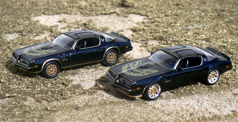 HO Scale Pontiac Firebird Smokey And The Bandit Edition.  #Pontiac #Firebird #Smokey #Bandit
