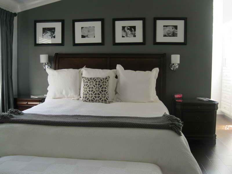 Neutral shade from the black and white master bedroom with for Grey and neutral bedroom