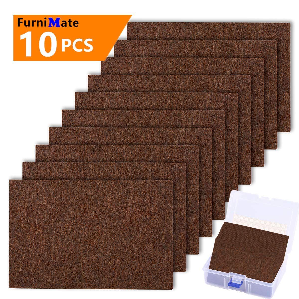 Furniture Felt Pads Sheets 10 Pieces Pack 6 X 4 Large Felt