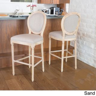 Christopher Knight Home Queen Anne Fabric Bar Stool Ping Great Deals