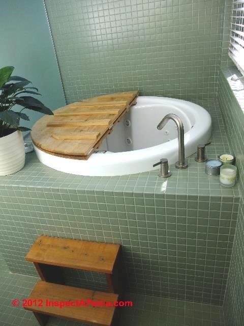Japanese Style Bath Tub Installed In A Minnesota Home (C) Daniel Friedman  Steven Ostrow