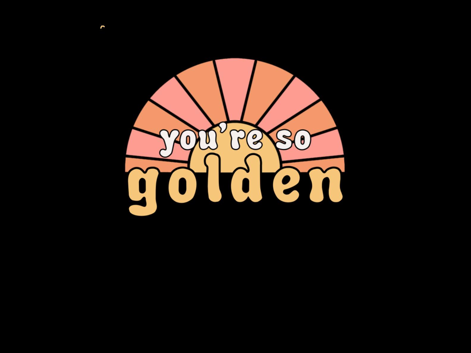 You Re So Golden Sticker By Emmajane1112 In 2021 Harry Styles Wallpaper Harry Styles Drawing Print Stickers