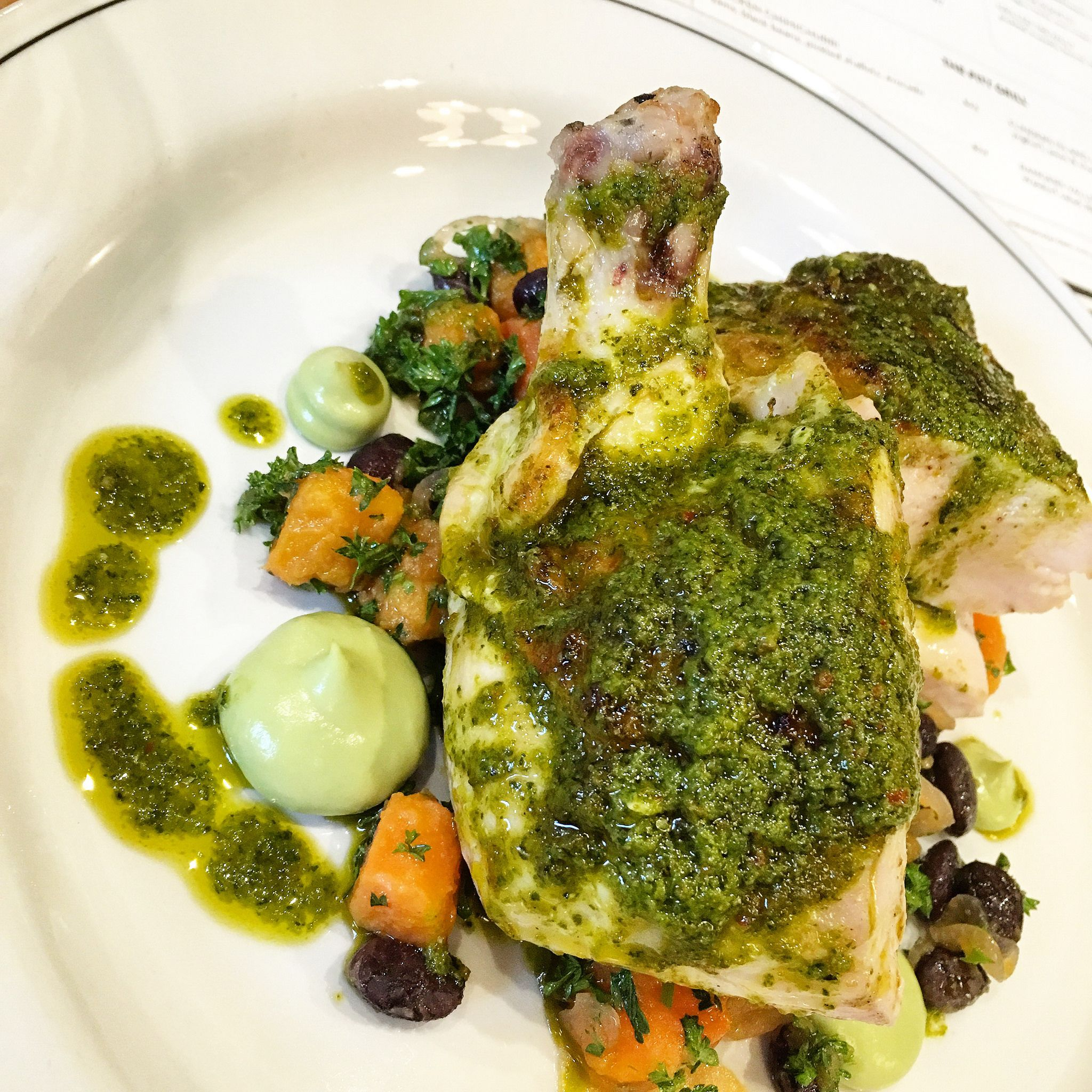 Chimichurri Chicken At Nieuw Amsterdam In Melbourne