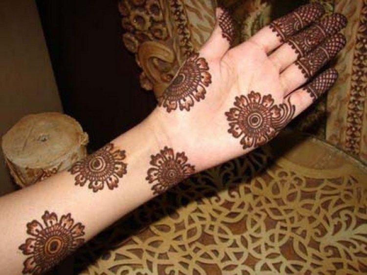 Modern Arabic Mehndi Designs 2014 : Beautiful arabic mehndi designs henna pinterest