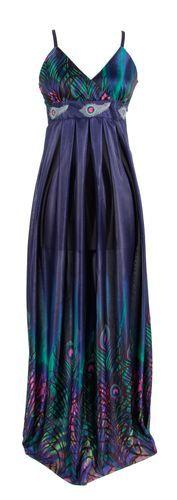 Yumi Peacock Maxi Dress | Hair and Fashion | Pinterest | Maxis ...