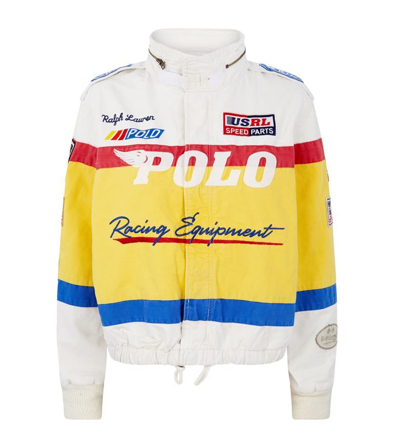Polo Ralph Lauren Canvas Racing Bomber Jacket Harrods Com Ralph Lauren Polo Sport Ralph Lauren Polo Jackets