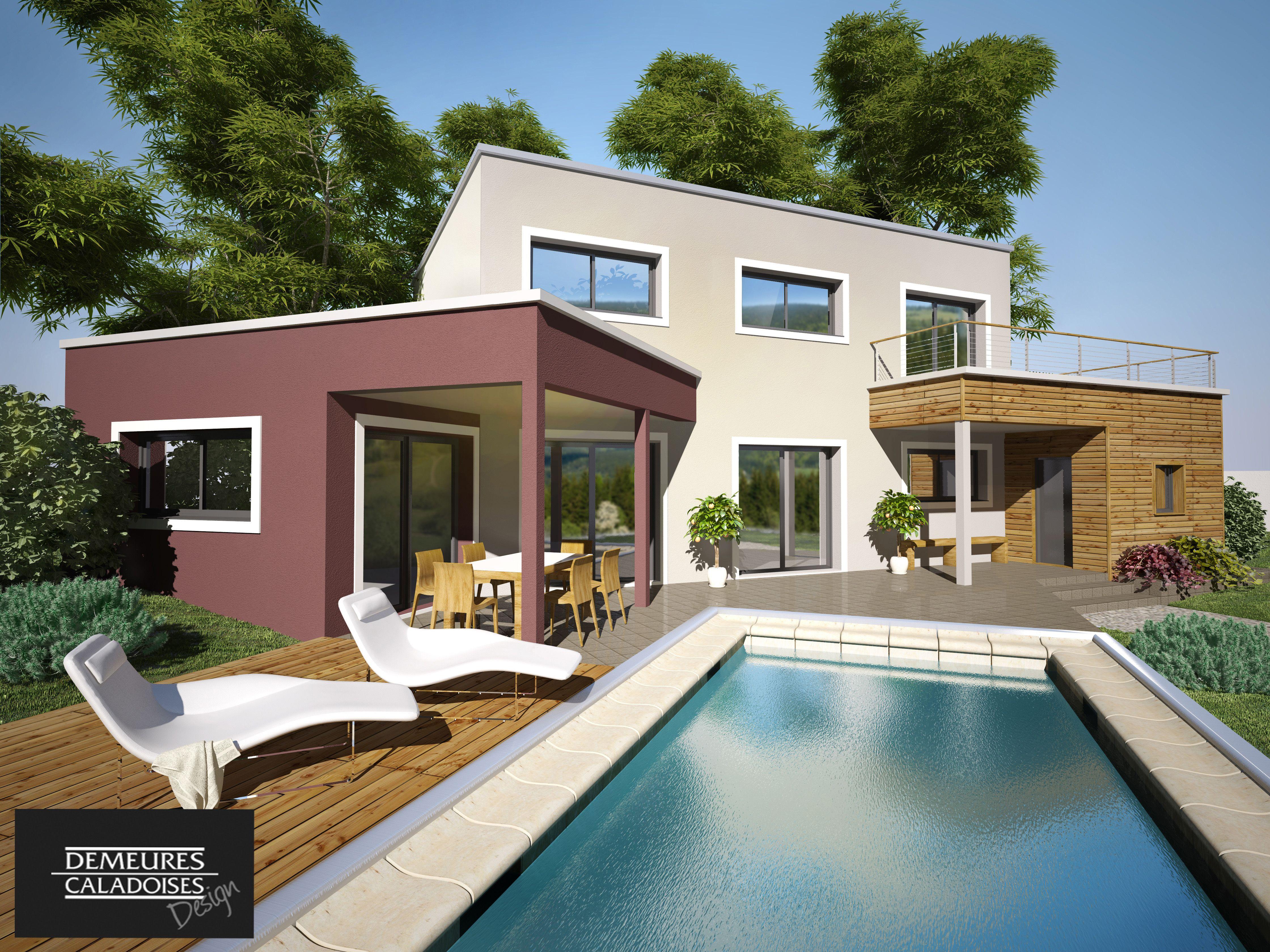 MANILLE #construction #villa #demeure #design #etage #moderne ...