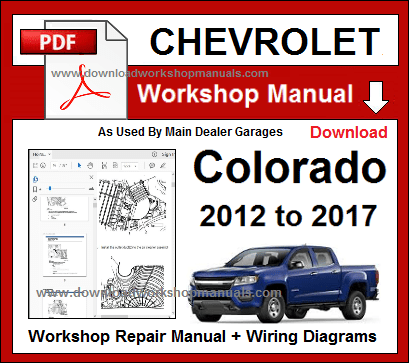 Cherolet Colorado Workshop Repair And Service Manual Wiring