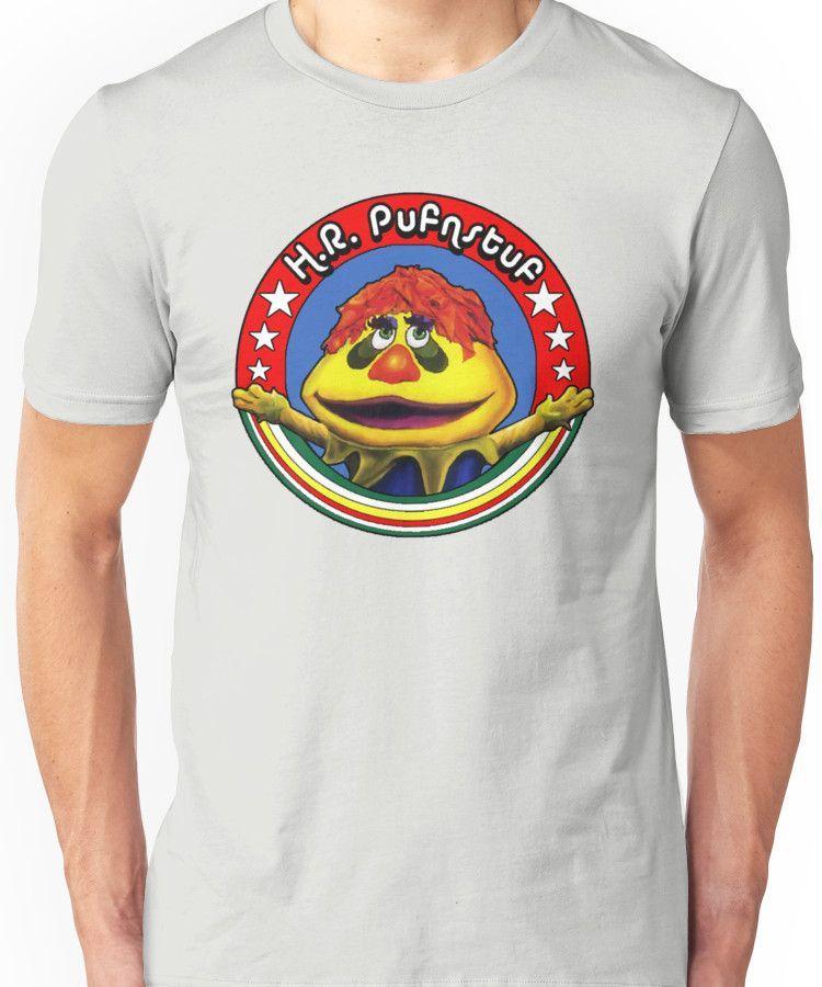 Pufnstuf Men/'s Black TShirt Tees Clothing H.R