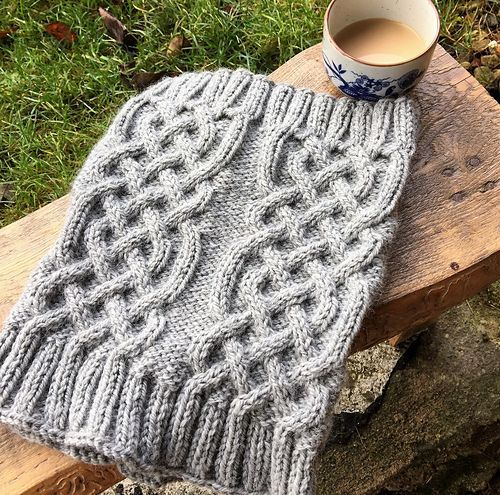 This Celtic Cable Cowl Pattern Suits Both Men And Women Free