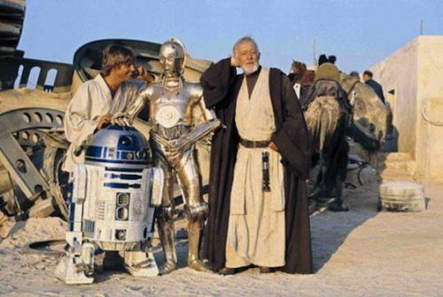 Uma pausa para o cafézinho em Tattooine