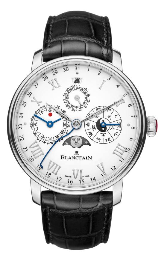 Blancpain equipped with a traditional Chinese calendar