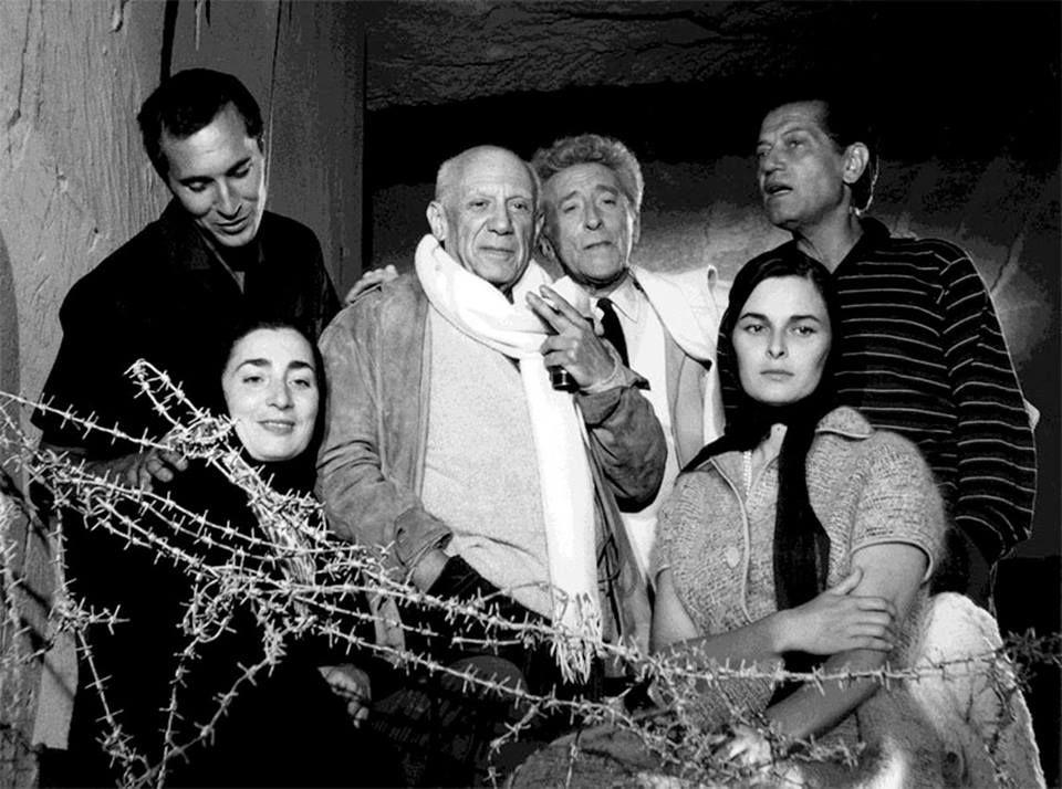 Colin Vian Picasso Cocteau Dominguin Lifar Jacqueline Et Lucia